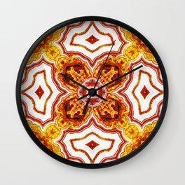 India Print Three Wall Clock