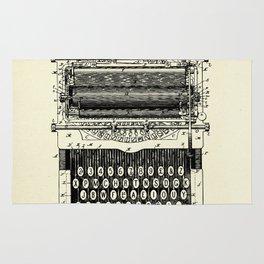 Type Writing Machine-1896 Rug