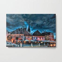 Dreamy scapes - Sibiu, Romania Metal Print