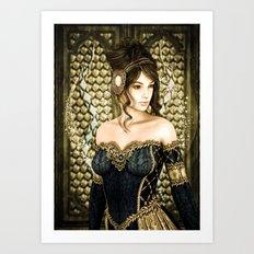 Fairytale Princess Art Print