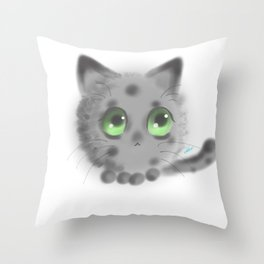 Poofball Throw Pillow