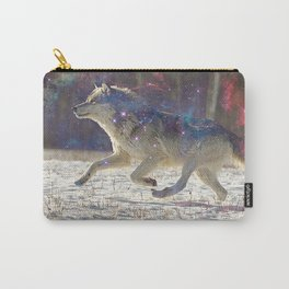 Running with wolves Carry-All Pouch