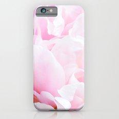 CREAMY PINK FLOWER Slim Case iPhone 6s