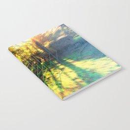 Trippy Backyard Escape Portal Notebook
