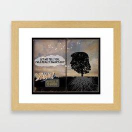 Chapter 2. Wisdom Tree Oracle Framed Art Print
