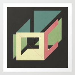 cube? Art Print