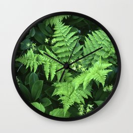 Mountain Bouquet Wall Clock