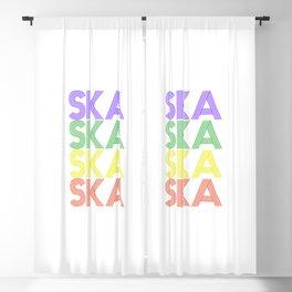 Ska  TShirt Retro Music Shirt Vintage Beats Gift Idea Blackout Curtain