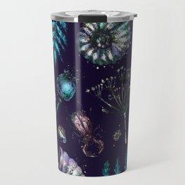 Mystical natural pattern Travel Mug