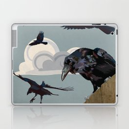 Invasion of the Crows Laptop & iPad Skin