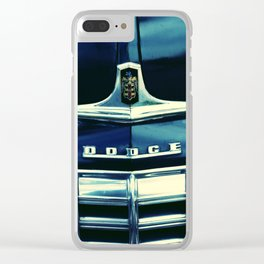 Dodge Hood 1948 II Clear iPhone Case