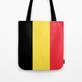 Flag of Belgium Tote Bag
