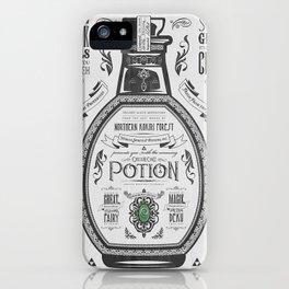 Legend of Zelda Green Chu Potion Advertisement iPhone Case