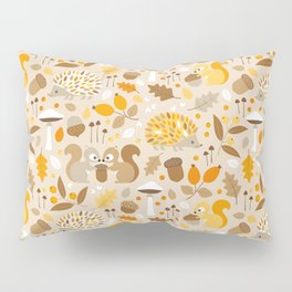 forest in fall Pillow Sham