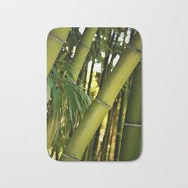 Green Bamboo Bath Mat