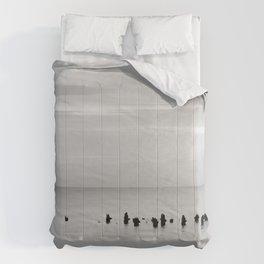BEACH DAYS XXVIII BW Comforters