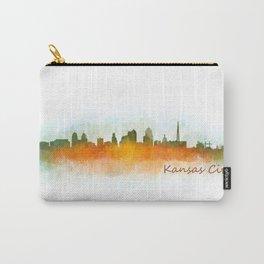 Kansas City Skyline Hq v3 Carry-All Pouch