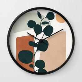Soft Shapes V Wall Clock