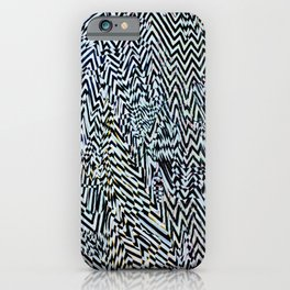 Noise Fields iPhone Case