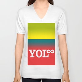 You Only Live Forever—Part III Unisex V-Neck