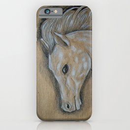 Caballo Blanco iPhone Case
