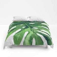 Monstera Leaf Comforters