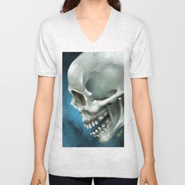 Skull 3 Unisex V-Neck