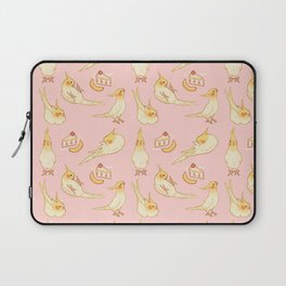 Pied Cockatiels all-over Laptop Sleeve
