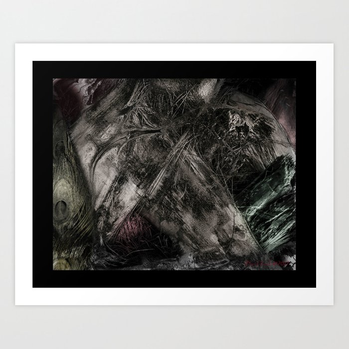 flesh wound Art Print