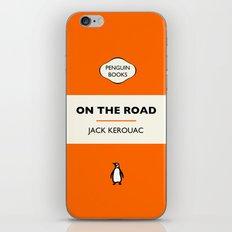 Penguin Book / On The Road - Jack Kerouac  iPhone & iPod Skin