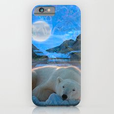 Just Chilling and Dreaming (Polar Bear) Slim Case iPhone 6s