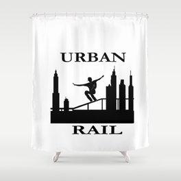 URBAN RAIL Shower Curtain