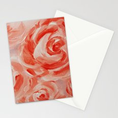 Floating Roses Stationery Cards