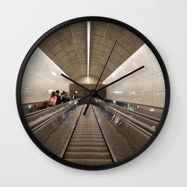 Escalator Granville Skytrain Wall Clock