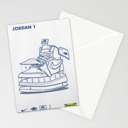 Jodan 1 Poster Stationery Cards