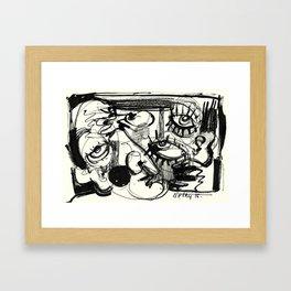 Chit-Chat Framed Art Print