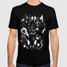 FAMILIAR SPIRITS SMALL Mens Fitted Tee Black