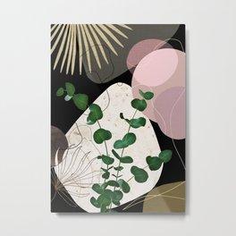 Eucalyptus Fan Palm Finesse #4 #tropical #decor #art #society6 Metal Print