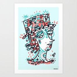 Landlord of the heart Art Print