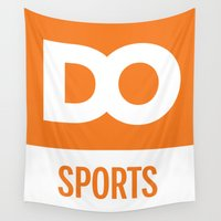 sports Wall Tapestries featuring DO Sports by The Daily Orange