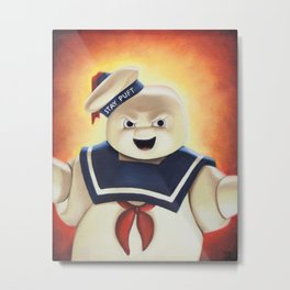 Stay Puft Marshmallow Man Metal Print