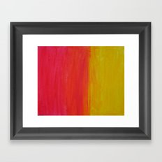 Sunset-Haze Framed Art Print