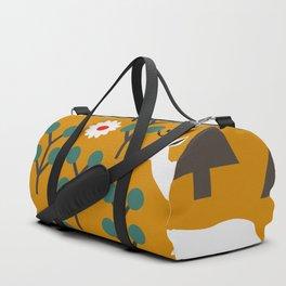 Winter woodland Duffle Bag
