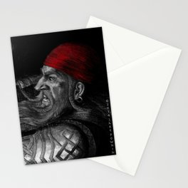 Dwarf vs. Hook Horror  Stationery Cards