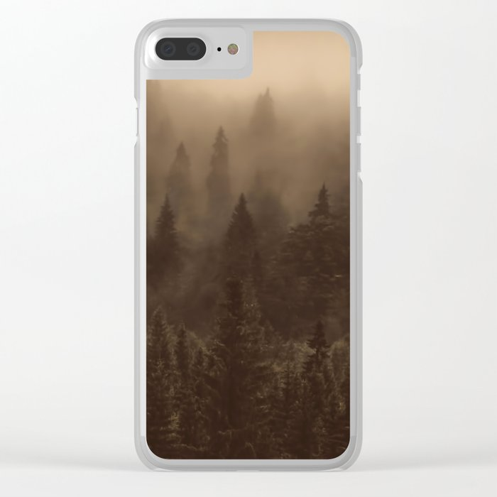 One Hundred Years of Solitude - Tree Forest Mountain Dust #Society6 Clear iPhone Case
