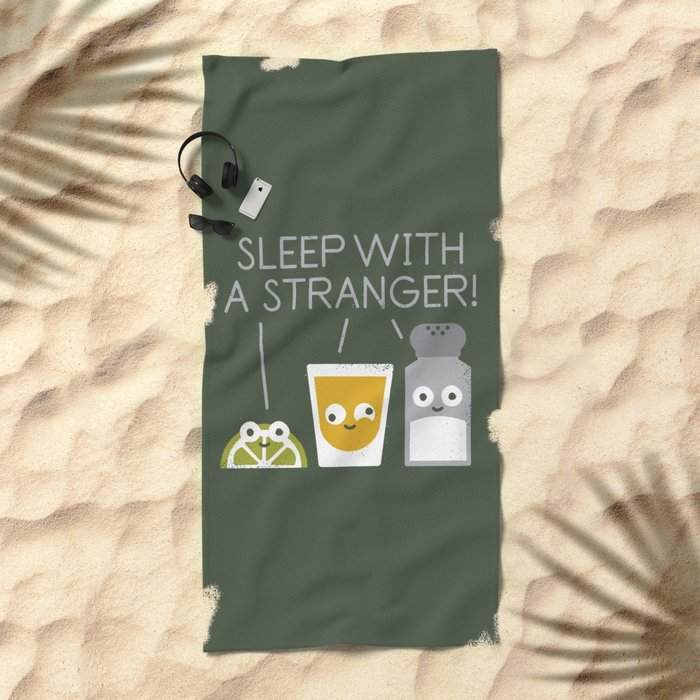 Sublimeinal Message Beach Towel