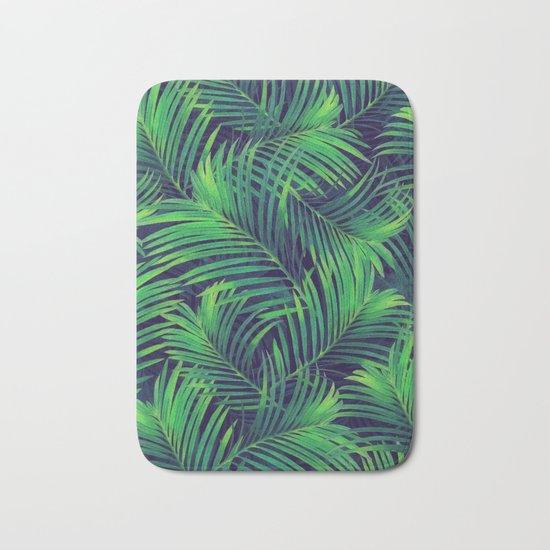 Palm leaves V Bath Mat