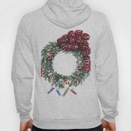Christmas wreath of happiness Hoody