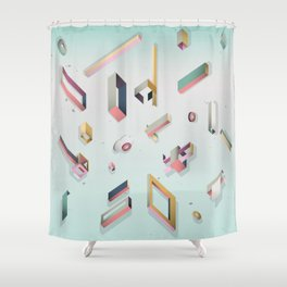 CandyBox Graphics Shower Curtain
