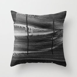 Emotional Streaks Throw Pillow